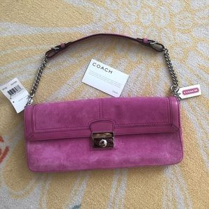 NEW with tags! Coach Convertible Clutch
